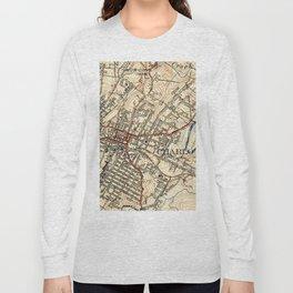 Vintage Map of Charlottesville Virginia (1949) Long Sleeve T-shirt