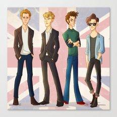 Life Ruining British Actors Canvas Print