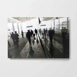 Street photography China Metal Print