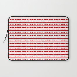 Red Scallop Laptop Sleeve