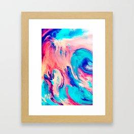 Spill Framed Art Print