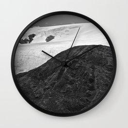 Glacial Icefield Wall Clock