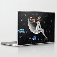 mermaid Laptop & iPad Skins featuring Mermaid by a_Cs025