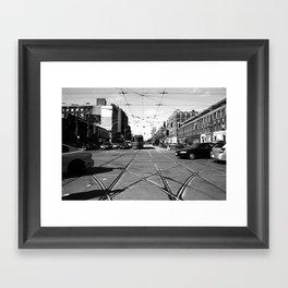Off Queen - Spadina Avenue - North Framed Art Print