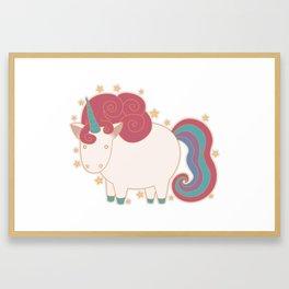 Unicorn! Framed Art Print