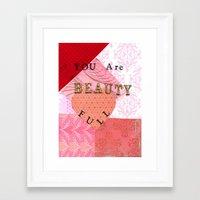 valentines Framed Art Prints featuring Valentines by Patty Haberman