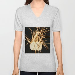 abstract figure Unisex V-Neck