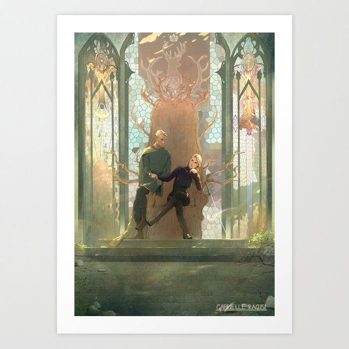 A New Court Art Print