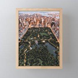 Central Park New York Framed Mini Art Print