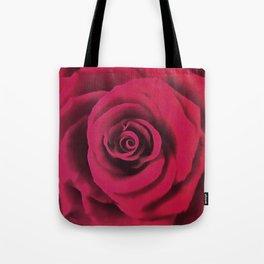 Big Red Rose Tote Bag