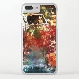 Found Clear iPhone Case
