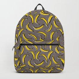 Pop Art Bananas - Gray Backpack