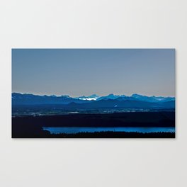 Pacific Northwest Cascade View Canvas Print