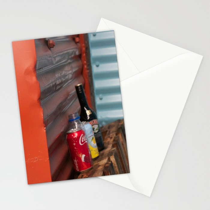 Cans and Bottle Granville Island Stationery Cards