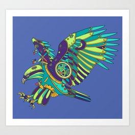 Eagle, cool wall art for kids and adults alike Art Print