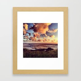 Watercolor Sky Framed Art Print