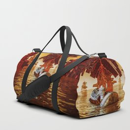 Another sunset Duffle Bag