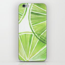 Fresh Lime ~ Summer Citrus iPhone Skin