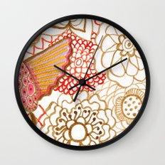 Deliria Wall Clock