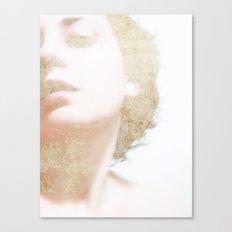Self Portrait in Gold Canvas Print