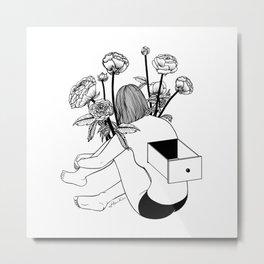 Beautiful Emptiness Metal Print