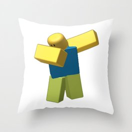 Coolest Roblox Dab Cool Throw Pillow