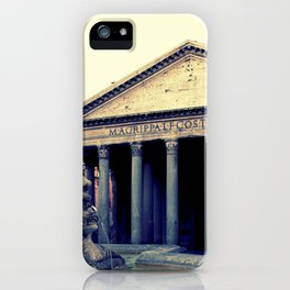 Pantheon in Rome iPhone Case