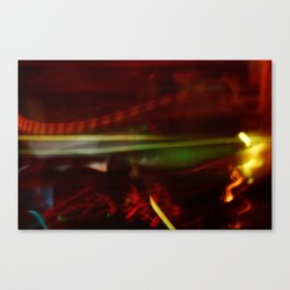 Blurry Life Canvas Print