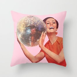 Hold Your Friends Close Throw Pillow