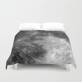 Black & White Moon Duvet Cover