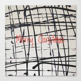 Best foot forward - Merry Christmas Canvas Print