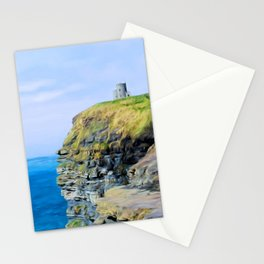 O'Brien's Tower on The Cliffs of Moher Stationery Cards