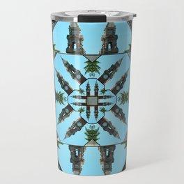 Clocks mandala Travel Mug
