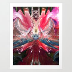 Queen Of Somewhere not Of This Earth Art Print