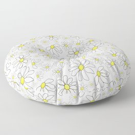 Picking Daisies Floor Pillow