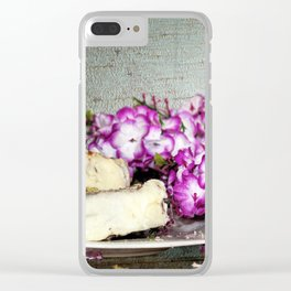 Coffee and Cake Still Life Clear iPhone Case