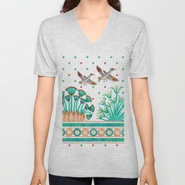 Lotus and Papyrus Unisex V-Neck