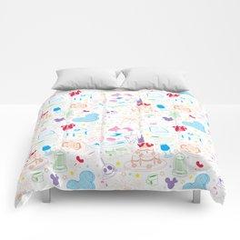 Tasting the Magic - White Comforters