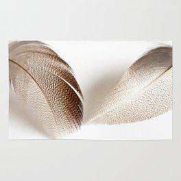 Mallard Feathers Rug