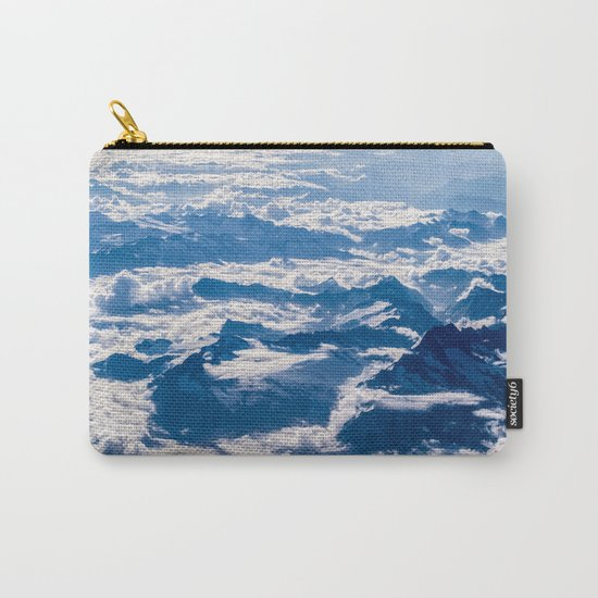 Misty Mountains Below Carry-All Pouch