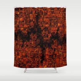 Fracked Shower Curtain