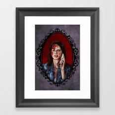 Halloween Heroines: Sidney Prescott Framed Art Print