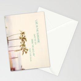 Sunshine, Sea, Air Stationery Cards