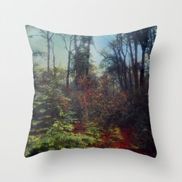 forest palette Throw Pillow