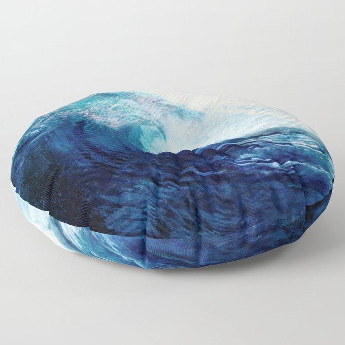 Waves II Floor Pillow