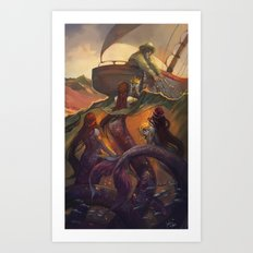 Treasure from the Deep  Art Print