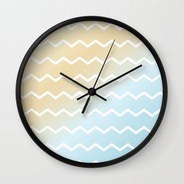 Lazy Beach Days – Three of Four Wall Clock