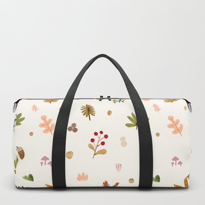 Abstraction_Woodland_Exploration_01 Duffle Bag