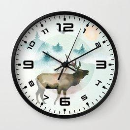 Winter Wonderland 9 Wall Clock