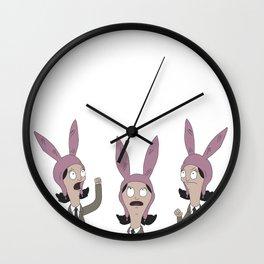 3 Little Louise' Wall Clock